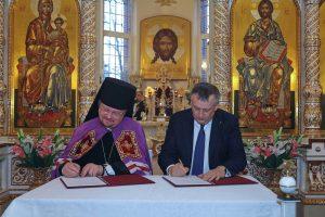 Епископ Выборгский и Приозерский Игнатий возглавил престольный праздник нашего храма