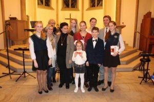 Прихожане нашего храма совершили поездку в Германию и Голландию с музыкальной программой