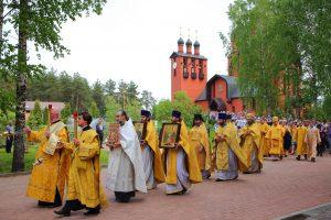 Престольный праздник Храма-Колокольни св. благоверного князя Игоря Черниговского