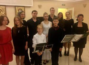 26 августа в трапезной второго этажа Гериатрического Центра им.Императрицы Марии Фёдоровны состоялся необычный концерт