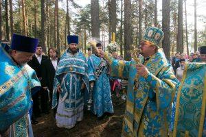 Преосвященнейший Игнатий совершил Божественную литургию престольного праздника в Керро