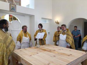 Епископ Выборгский и Приозерский Игнатий освятил храм в честь Почаевской иконы Божией Матери поселка Гарболово