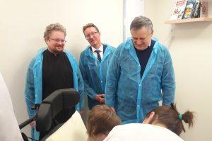 Встреча епископа Выборгского Игнатия и губернатора ЛО Александра Дрозденко
