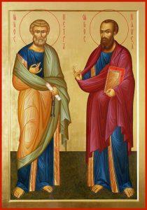 Праздник св. апостолов Петра и Павла в Токсово 12.07.2019
