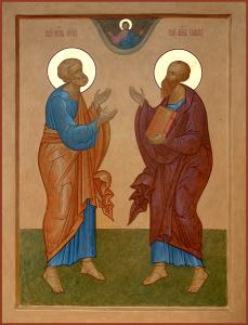 День св. апостолов Петра и Павла 12.07.2020