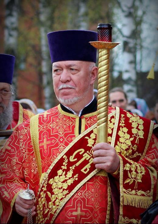 Отпевание протодиакона Александра Жукова состоится 18.09.2020