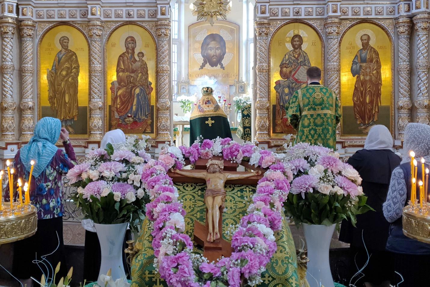 Воздвижение Креста Господня 27.09.2020