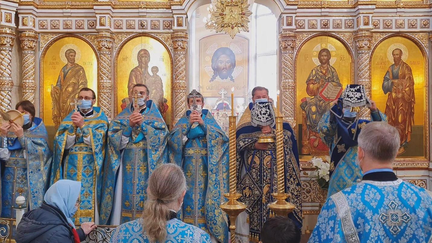 ПОКРОВ ПРЕСВЯТОЙ БОГОРОДИЦЫ 14.10.2021